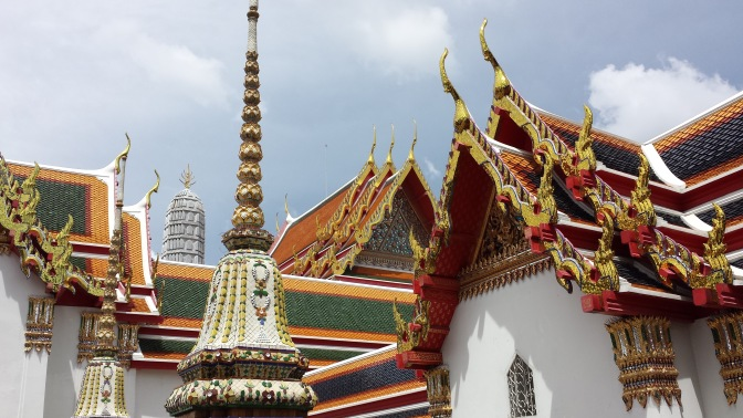 Southeast Asia Vacation Part 2: Bangkok's Ornate Temples & Bustling Streets